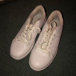 White & Navy Forever 21 Shoes